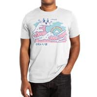 The Great Kawaii Wave - mens-extra-soft-tee - small view