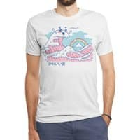 The Great Kawaii Wave - mens-triblend-tee - small view