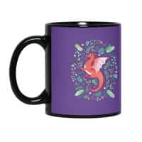 Tropical Dragon - black-mug - small view