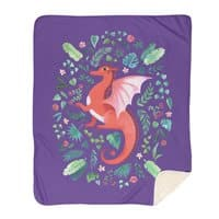Tropical Dragon - blanket - small view