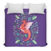 Tropical Dragon - duvet-cover - small view