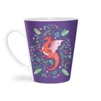 Tropical Dragon - latte-mug - small view