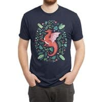 Tropical Dragon - mens-triblend-tee - small view