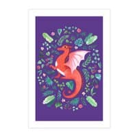Tropical Dragon - vertical-print - small view