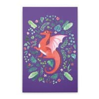 Tropical Dragon - vertical-stretched-canvas - small view