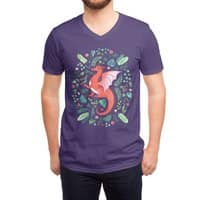 Tropical Dragon - vneck - small view