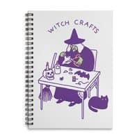 Witch Crafts - spiral-notebook - small view