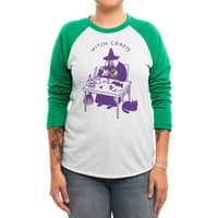 Witch Crafts - triblend-34-sleeve-raglan-tee - small view