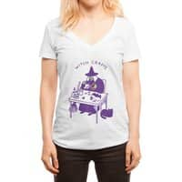 Witch Crafts - womens-deep-v-neck - small view