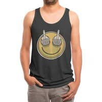 Fuck Feelings - mens-triblend-tank - small view