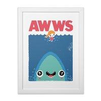 AWWS - white-vertical-framed-print - small view