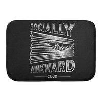 Socially Awkward Club - bath-mat - small view