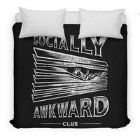 Socially Awkward Club - duvet-cover - small view