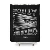 Socially Awkward Club - shower-curtain - small view