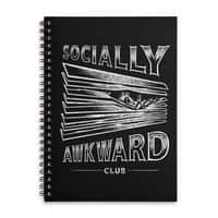 Socially Awkward Club - spiral-notebook - small view