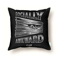 Socially Awkward Club - throw-pillow - small view