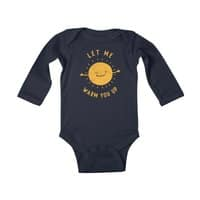 Let Me Warm You Up - baby-long-sleeve-bodysuit - small view