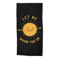 Let Me Warm You Up - beach-towel - small view