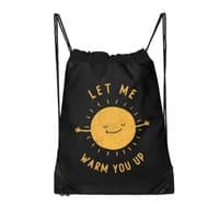 Let Me Warm You Up - drawstring-bag - small view