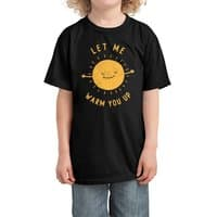 Let Me Warm You Up - kids-tee - small view