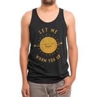 Let Me Warm You Up - mens-triblend-tank - small view