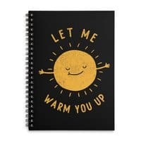 Let Me Warm You Up - spiral-notebook - small view