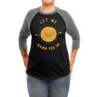 Let Me Warm You Up - triblend-34-sleeve-raglan-tee - small view
