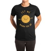 Let Me Warm You Up - womens-extra-soft-tee - small view