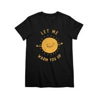 Let Me Warm You Up - womens-premium-tee - small view