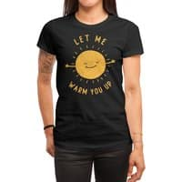 Let Me Warm You Up - womens-regular-tee - small view