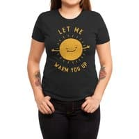 Let Me Warm You Up - womens-triblend-tee - small view