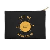 Let Me Warm You Up - zip-pouch - small view