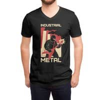 Industrial Metal - vneck - small view