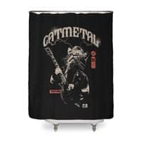 Catmetal - shower-curtain - small view
