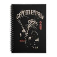 Catmetal - spiral-notebook - small view