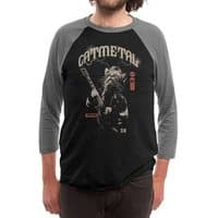 Catmetal - triblend-34-sleeve-raglan-tee - small view