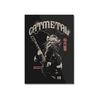 Catmetal - vertical-mounted-acrylic-print - small view