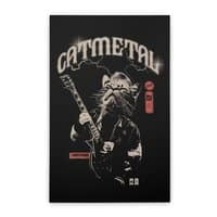 Catmetal - vertical-stretched-canvas - small view