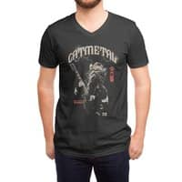 Catmetal - vneck - small view
