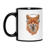 The Musical Fox - black-mug - small view