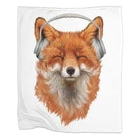 The Musical Fox - blanket - small view