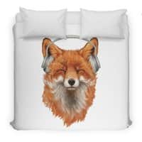 The Musical Fox - duvet-cover - small view