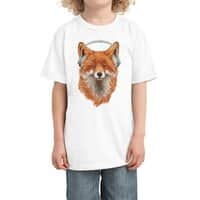 The Musical Fox - kids-tee - small view