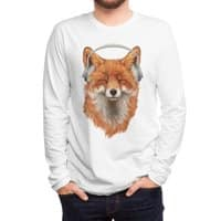 The Musical Fox - mens-long-sleeve-tee - small view