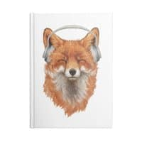 The Musical Fox - notebook - small view