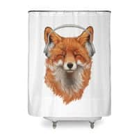 The Musical Fox - shower-curtain - small view