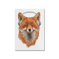The Musical Fox - vertical-mounted-acrylic-print - small view