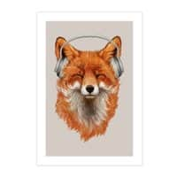 The Musical Fox - vertical-print - small view