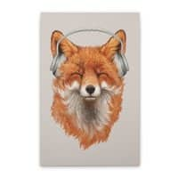 The Musical Fox - vertical-stretched-canvas - small view
