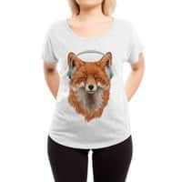 The Musical Fox - womens-dolman - small view